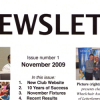Blaze Newsletter Issue 1